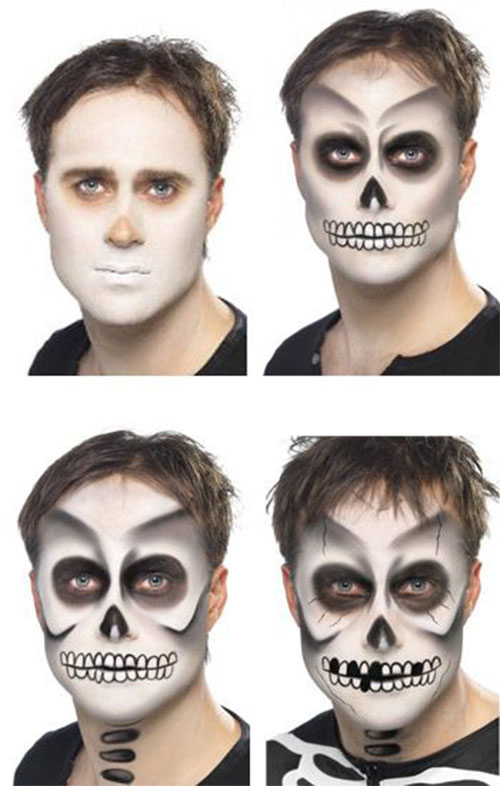 15-Simple-Step-By-Step-Halloween-Face-Makeup-Tutorials-For-Learners-2018-13
