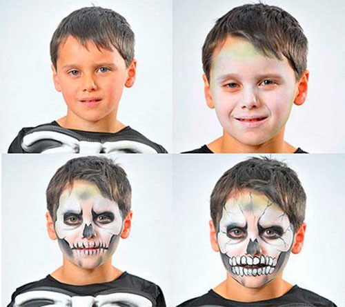 15-Simple-Step-By-Step-Halloween-Face-Makeup-Tutorials-For-Learners-2018-14