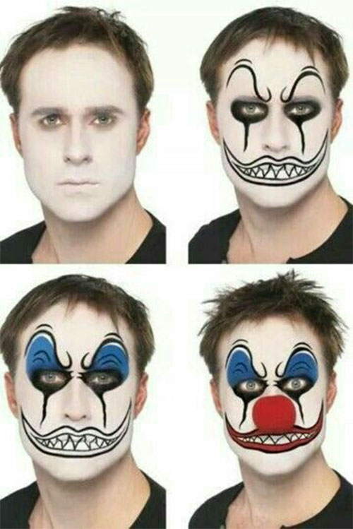 15-Simple-Step-By-Step-Halloween-Face-Makeup-Tutorials-For-Learners-2018-4