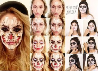15-Simple-Step-By-Step-Halloween-Face-Makeup-Tutorials-For-Learners-2018-f