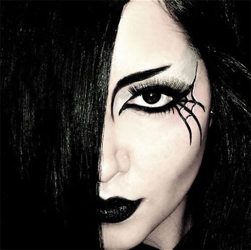 18 Scary Witch Halloween Makeup Ideas & Looks 2018 - Idea ...