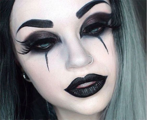 Witch Halloween Makeup Easy.18 Scary Witch Halloween Makeup Ideas Looks 2018 Idea