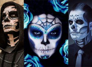 20-Skull-Skeleton-Halloween-Makeup-Ideas-Looks-2018-f