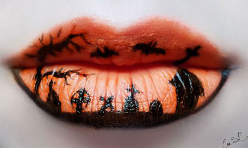 25-Amazing-Halloween-Lip-Makeup-Ideas-Looks-2018-20