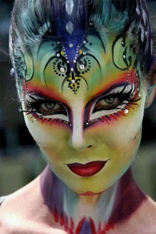 Halloween Face Paint Ideas For Women.25 Unique Halloween Face Paints Ideas For Kids Men Women