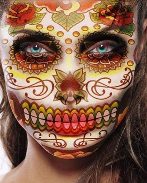 25-Unique-Halloween-Face-Paints-Ideas-For-Kids-Men-Women-2018-14