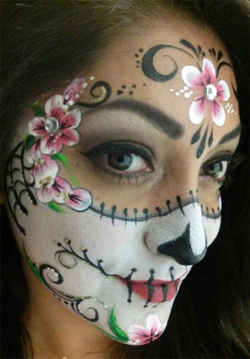 25-Unique-Halloween-Face-Paints-Ideas-For-Kids-Men-Women-2018-18