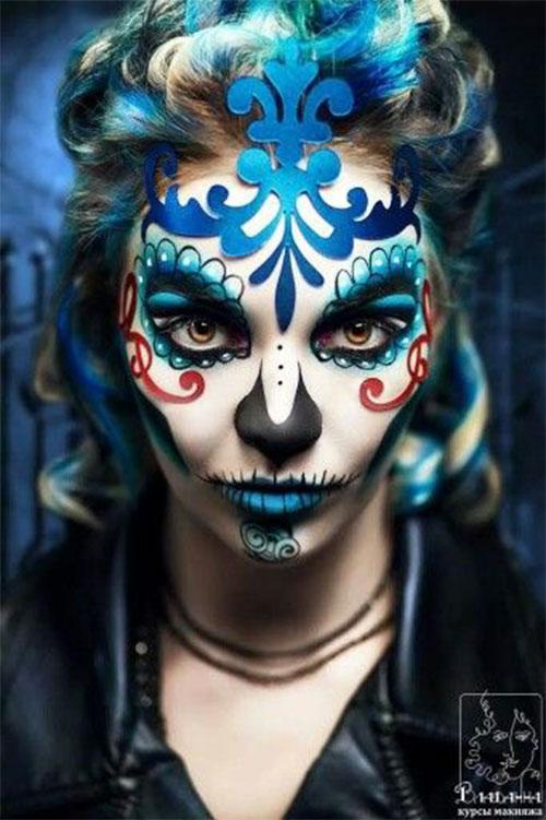25-Unique-Halloween-Face-Paints-Ideas-For-Kids-Men-Women-2018-5