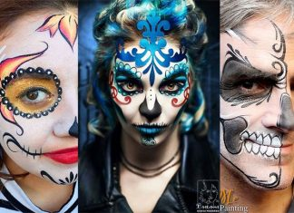 25-Unique-Halloween-Face-Paints-Ideas-For-Kids-Men-Women-2018-F