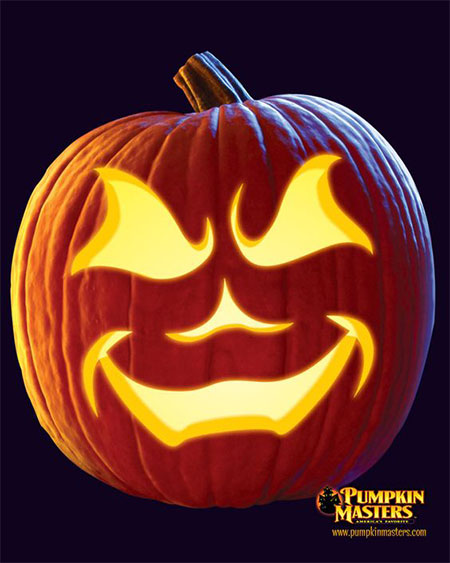 50-Best-Easy-Pumpkin-Carving-Ideas-Crafting-Patterns-2018-15