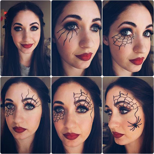 Easy Step By Step Halloween Eye Makeup Tutorials For