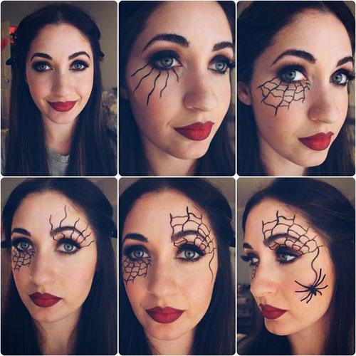 Easy-Step-By-Step-Halloween-Eye-Makeup-Tutorials-For-Beginners-2018-1