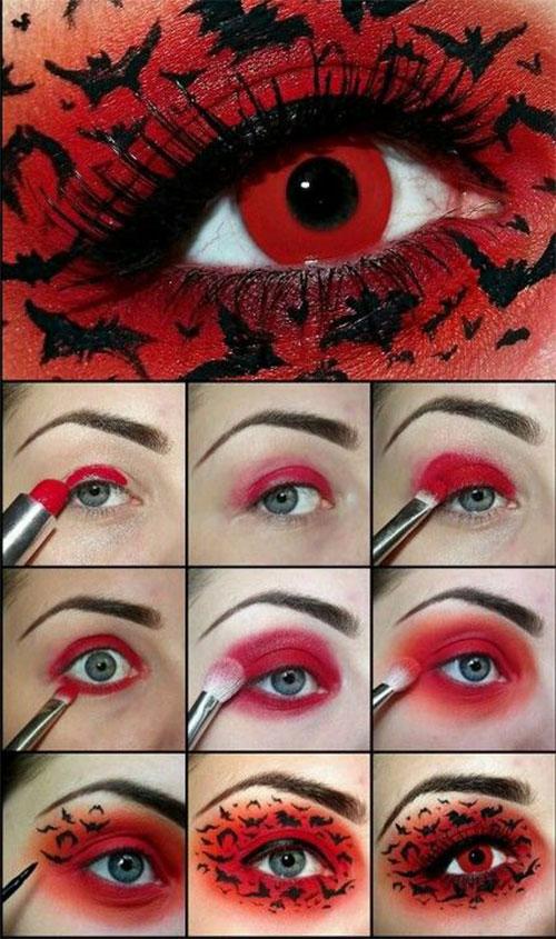 Easy-Step-By-Step-Halloween-Eye-Makeup-Tutorials-For-Beginners-2018-2