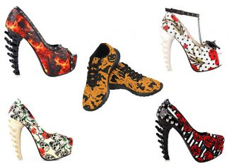 15 cheap scary halloween heels shoes boots for girls