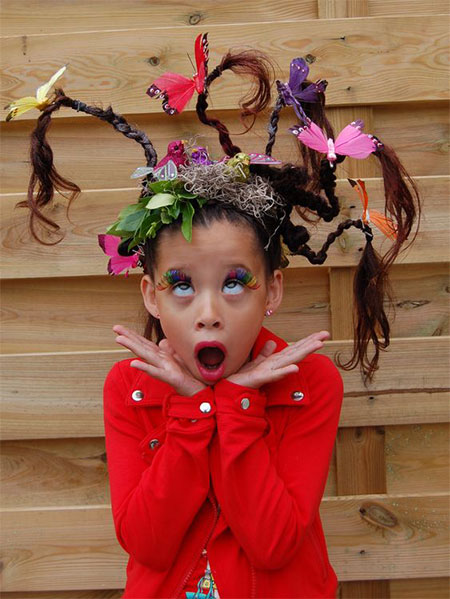 50-Crazy-Funky-Halloween-Hairstyles-For-Little-Girls-Kids-2018-10