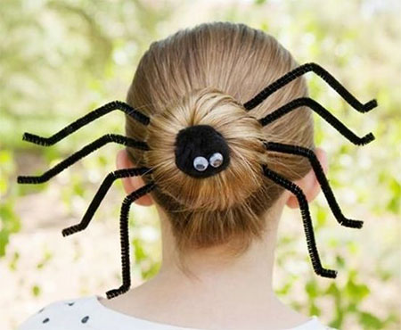 50-Crazy-Funky-Halloween-Hairstyles-For-Little-Girls-Kids-2018-33