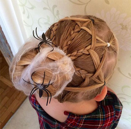 50-Crazy-Funky-Halloween-Hairstyles-For-Little-Girls-Kids-2018-34