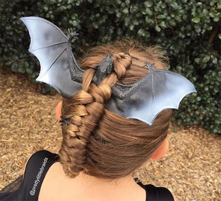 50-Crazy-Funky-Halloween-Hairstyles-For-Little-Girls-Kids-2018-36