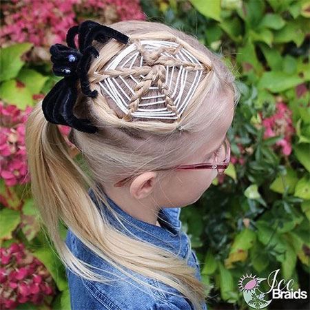 50-Crazy-Funky-Halloween-Hairstyles-For-Little-Girls-Kids-2018-38