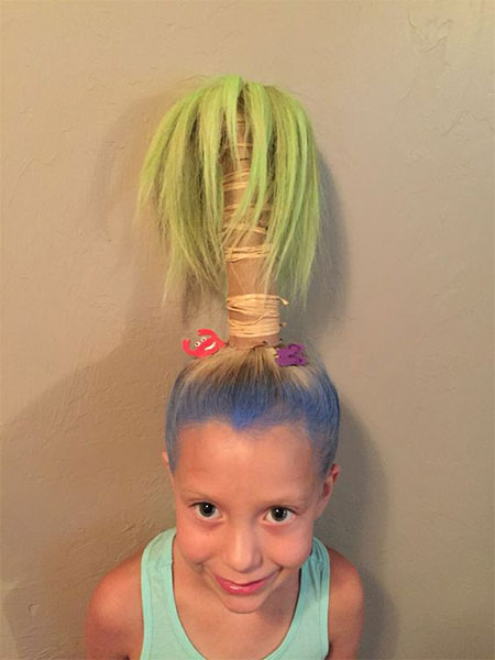 50-Crazy-Funky-Halloween-Hairstyles-For-Little-Girls-Kids-2018-4