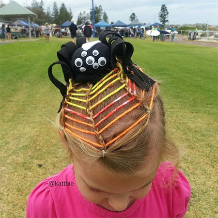 50-Crazy-Funky-Halloween-Hairstyles-For-Little-Girls-Kids-2018-42