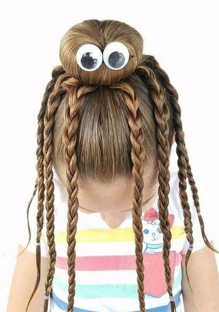 50-Crazy-Funky-Halloween-Hairstyles-For-Little-Girls-Kids-2018-43