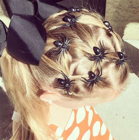 50-Crazy-Funky-Halloween-Hairstyles-For-Little-Girls-Kids-2018-46