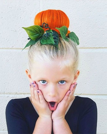 50-Crazy-Funky-Halloween-Hairstyles-For-Little-Girls-Kids-2018-7