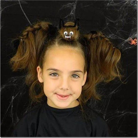 50-Crazy-Funky-Halloween-Hairstyles-For-Little-Girls-Kids-2018-9