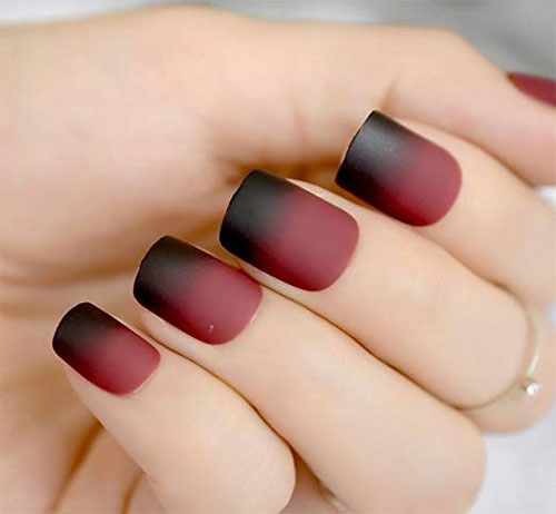10-Amazing-Red-Black-Halloween-Themed-Nail-Art-Stickers-Decals-2019-3
