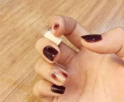 10-Amazing-Red-Black-Halloween-Themed-Nail-Art-Stickers-Decals-2019-5