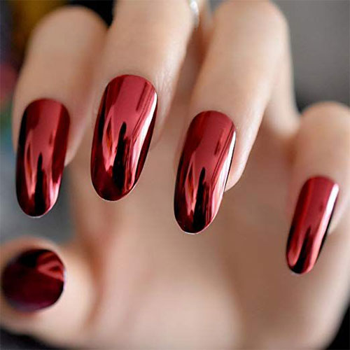 10-Amazing-Red-Black-Halloween-Themed-Nail-Art-Stickers-Decals-2019-7