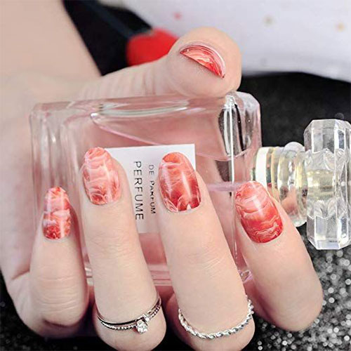 10-Amazing-Red-Black-Halloween-Themed-Nail-Art-Stickers-Decals-2019-8