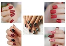 10-Amazing-Red-Black-Halloween-Themed-Nail-Art-Stickers-Decals-2019-F