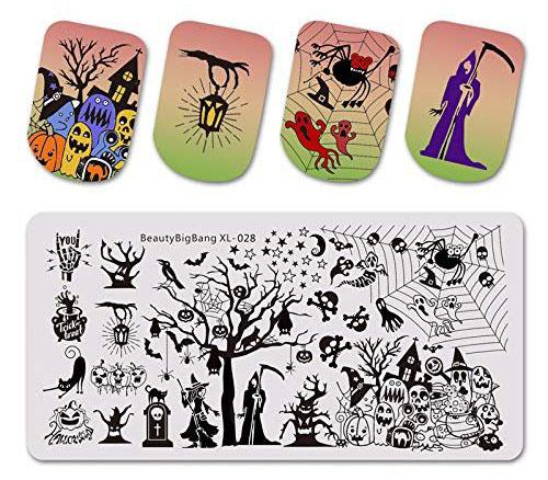 10-Halloween-Inspired-Nails-Art-Stencils-2019-1