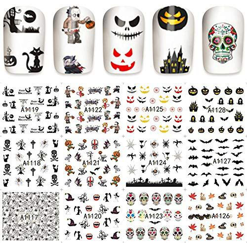 12-Simple-Halloween-Inspired-Nails-Art-Stickers-2019-1