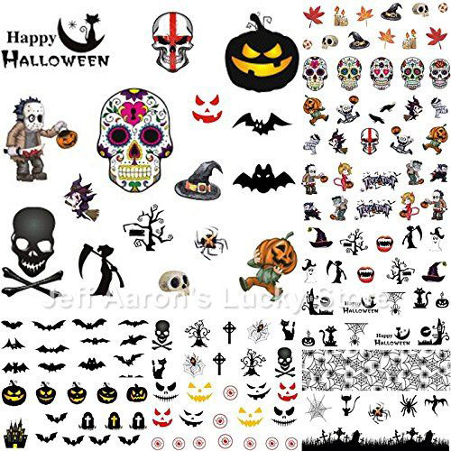 12-Simple-Halloween-Inspired-Nails-Art-Stickers-2019-2