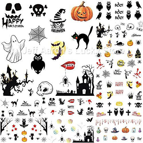 12-Simple-Halloween-Inspired-Nails-Art-Stickers-2019-3