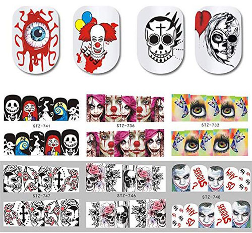 12-Simple-Halloween-Inspired-Nails-Art-Stickers-2019-4