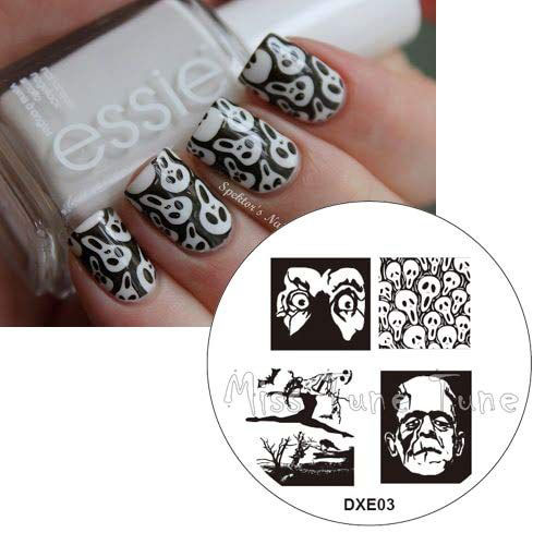12-Simple-Halloween-Inspired-Nails-Art-Stickers-2019-9