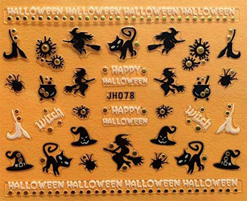 15-Best-Halloween-Witch-Nail-Art-Stickers-Designs-Trends-2019-1