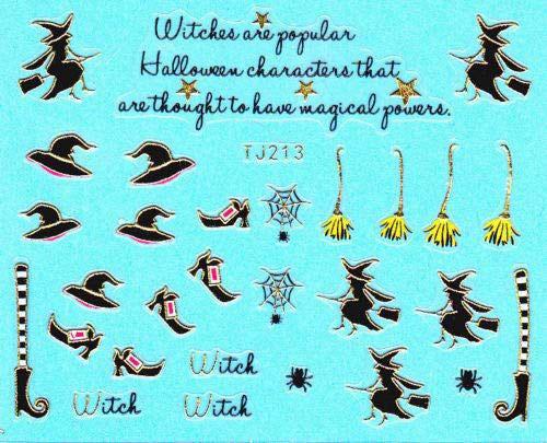 15-Best-Halloween-Witch-Nail-Art-Stickers-Designs-Trends-2019-4