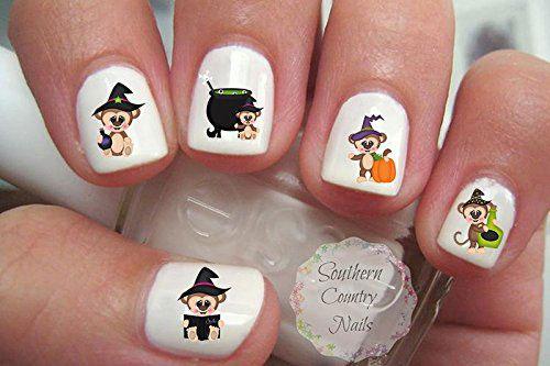 15-Best-Halloween-Witch-Nail-Art-Stickers-Designs-Trends-2019-5