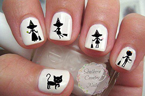 15-Best-Halloween-Witch-Nail-Art-Stickers-Designs-Trends-2019-7