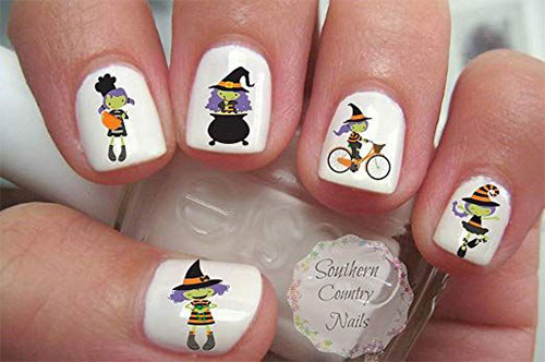 15-Best-Halloween-Witch-Nail-Art-Stickers-Designs-Trends-2019-8