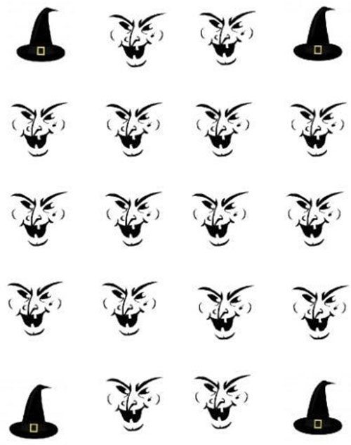 15-Best-Halloween-Witch-Nail-Art-Stickers-Designs-Trends-2019-9