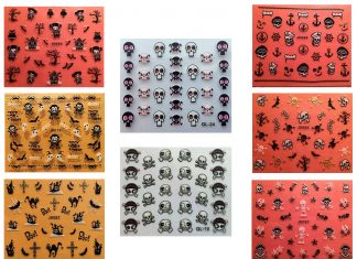 25-Halloween-Inspired-3d-Nail-Art-Stickers-Decals-3D-Nails-F