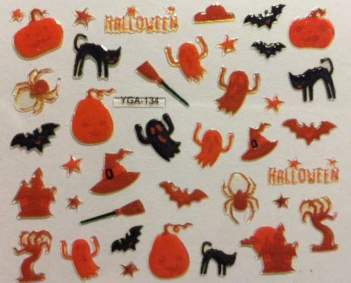 Halloween-Ghost-Nail-Art-Stickers-Designs-Ideas-2019-Boo-Nails-1