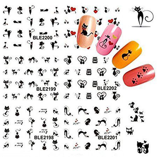 Halloween-Inspired-Nail-Art-Stickers-Decals-For-Kids-2019-3