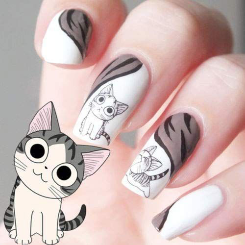 Halloween-Inspired-Nail-Art-Stickers-Decals-For-Kids-2019-4